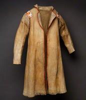 Bear skin coat