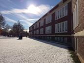 Snow at TCMS...