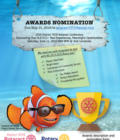 Nominate Rotaractors for the District Awards!