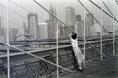 Le Pont de Brooklyn, New York, 1982