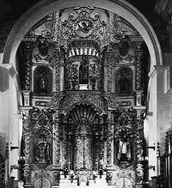 Inside of Iglesia San Pedro