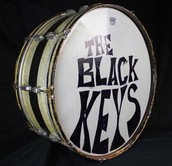 Patrick Carney's (Black Keys) bass drum