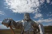 A Statue of Genghis Khan