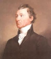 James Monroe looking to the left with more swagger