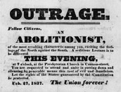 Flyer calls meeting for abolitionists