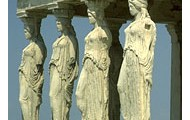 Monuments on the Erechtheum