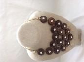 Casablanca bib necklace$98, sale $40