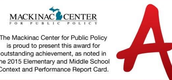 BSMS and Sylvester Elementary Rank 1st and 2nd on Mackinaw Center's Report Card