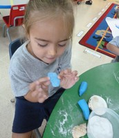 Play-dough Area