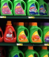 Any liquid laundry detergent