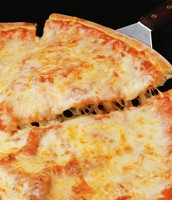 cheese pizza, or extra cheese pizza