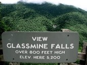 Come visit the beautiful Glassmine Falls