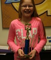 First Place Winner:      Kira Westen