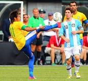 ברזיל מול ארגנטינה מספרת של ניימאר