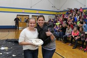 Karly kept the pie!
