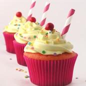 warm cupcakes
