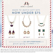 Top Gift Sets under 75$ for a limited time only! Shop my boutique today!