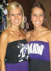 Lauren Laudan and Laura Negley (Collegiate Alumnae Relations)