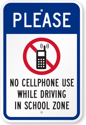 Cell Phones Prohibited in Car Lines