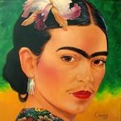Por que Frida Kahlo pinta sí misma en este estilo?
