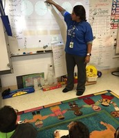 Ms. Alvarez's 1st Grade Math Class - I do (Modeling)