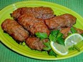Ground lamb kebabs
