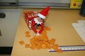 Elf Makes a Mess