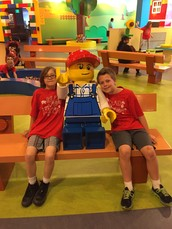 Legoland was a sight to see!