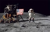 America Lands on the Moon