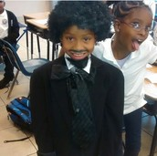 Frederick Douglass visits 3rd grDE