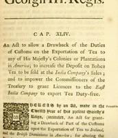 The Tea Act: Impending Doom???