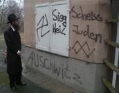 nazi symbols on houses