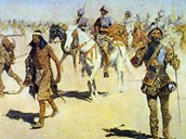 Coronado's Army Marching to the Seven Cities of Gold