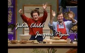 Jacques Pepin et Julia Childs