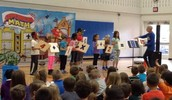 Math Assembly Adds Up to Lots of Fun