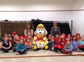 October 5th & 6th Sparky came to visit!