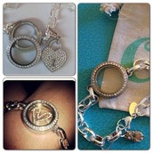Link Locket Bracelets
