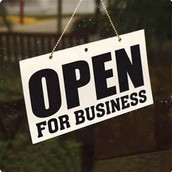 Be Open For Business!