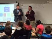 Mayor Caldwell Visits 5th Grade