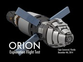 This is a prototype of the Orion Spaceship