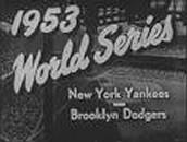 Yankees win 1953 World Series