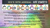 10th Annual Art Contest