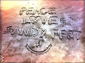Works of Sand Art