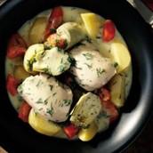 Greek Chicken & Vegetables Ragout