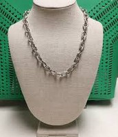 CHRISTINA LINK NECKLACE - SILVER $20 (75% OFF)