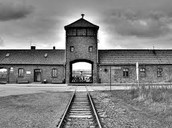 Auschwitz II gate
