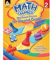 Math Games Book and CD