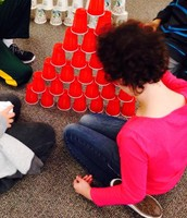Cup Stacking! Who knew???