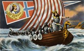 Leif on his ship