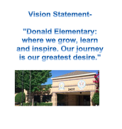 Donald vision statement